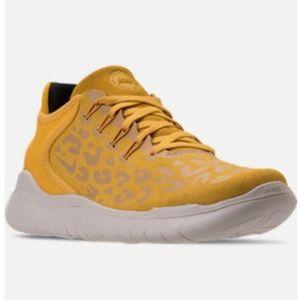 🐆Nike free run 2018 wild suede sneakers